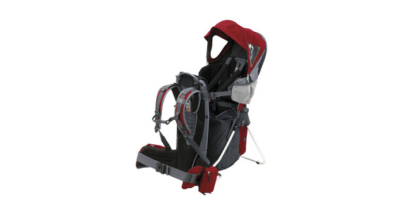 Salewa Koala II inkl. Raincover Child Carrier dark red/anthracite